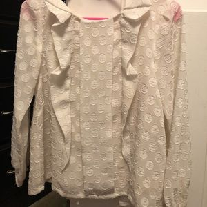 Girls cream blouse